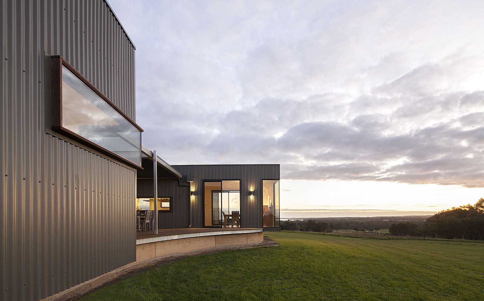 Custom modular homes prebuilt residential australian for Australian architecture