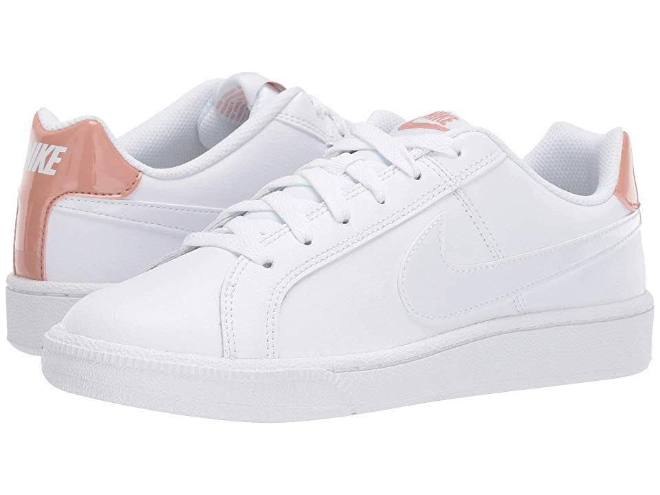 fuerte Hueso márketing  Nike Court Royale Women's Classic Shoes White/White/Rose Gold ...