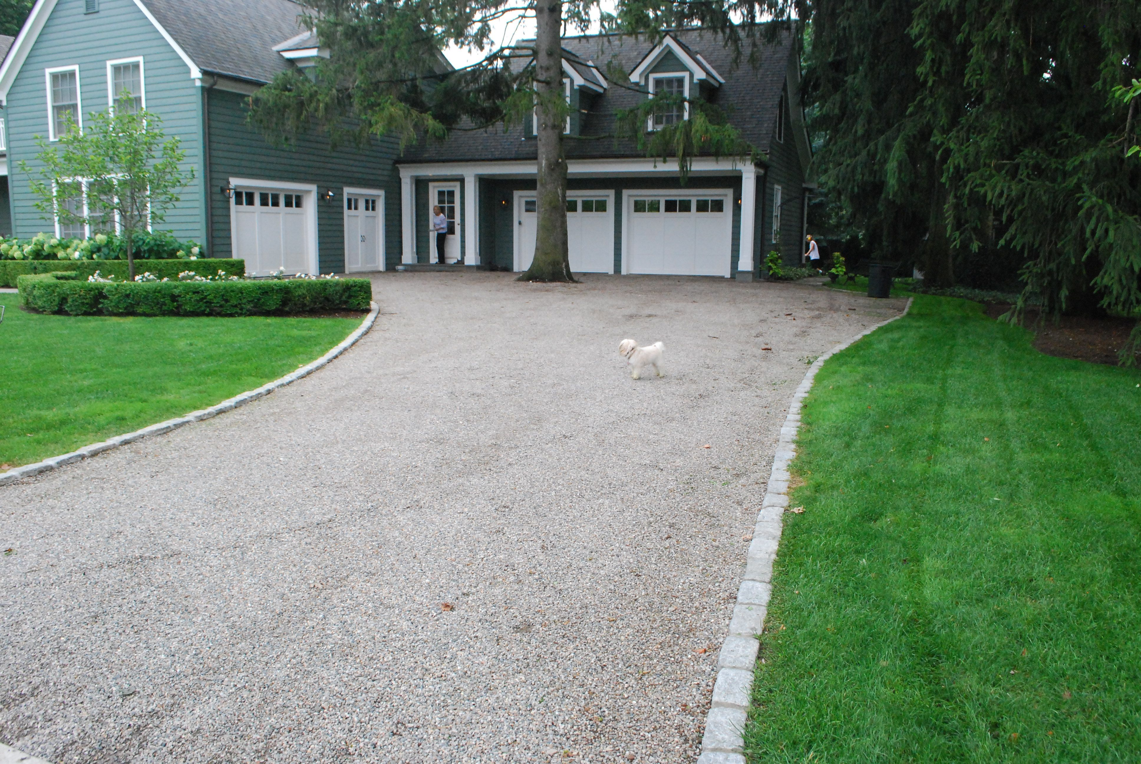 Different Types Of Driveway Edging Gravel Driveway