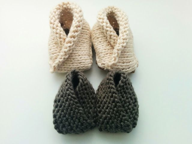 Crossover Baby Booties FREE Knitting Pattern | Costuretes ...