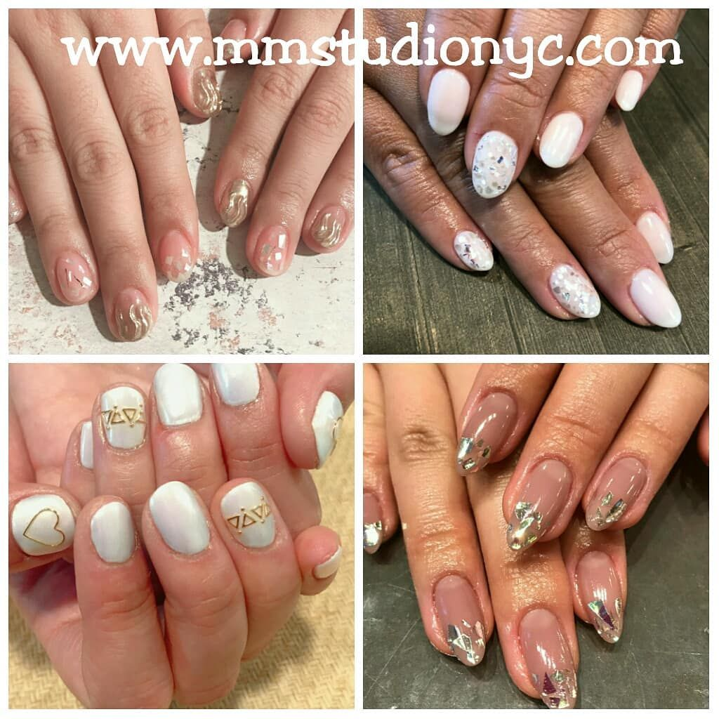 M M Studio Nyc On Instagram Iced Out Inspiration By Wakana Chiho Mary And Fumi Get Out Of The Cold And Make A Nail A Nails Japanese Nail Art Gel Nails