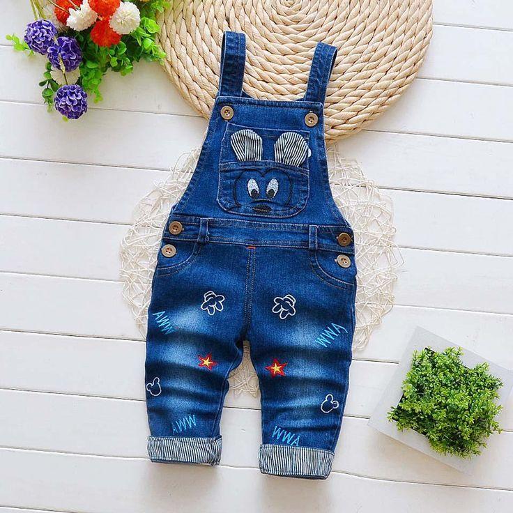 283997802 2018 Autumn Casual Toddler Boys Overalls 7 Styles Cartoon Bib Pants ...