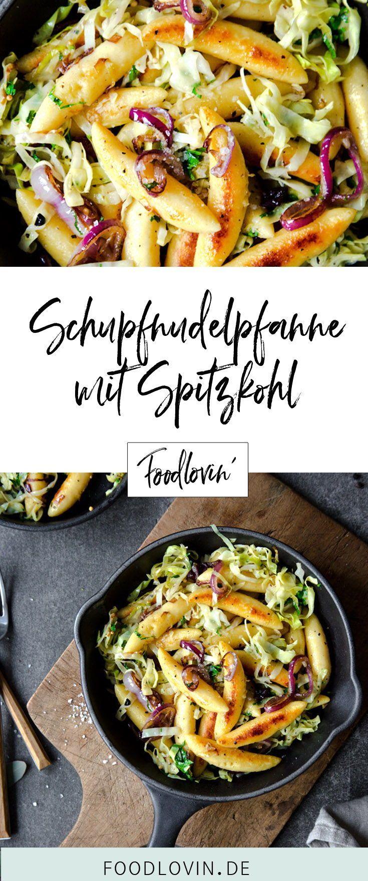 Schupfnudelpfanne mit Spitzkohl. #vejetaryentarifleri