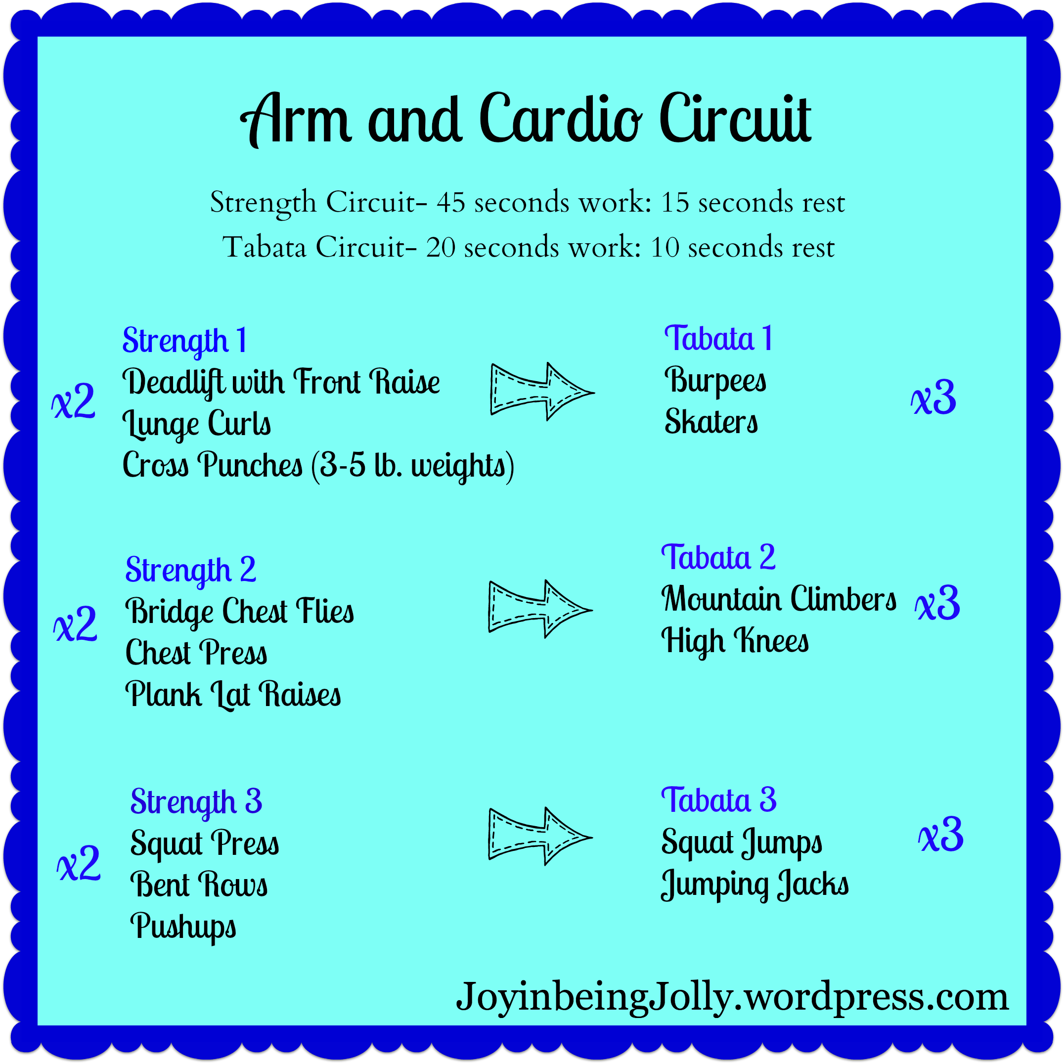 Arm And Cardio Png Workout Ideas Arms Rh Ie Best Circuit