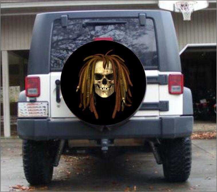 Pirate Skull Spare Tire Cover Custom Tire Covers Tire Cover Spare Tire Covers Custom Tire Covers
