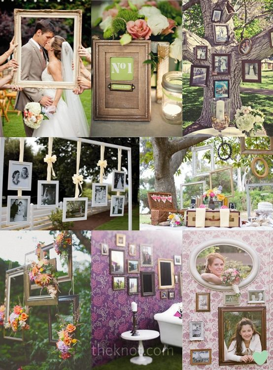Frames to catch the memories great decoration ideas Golden