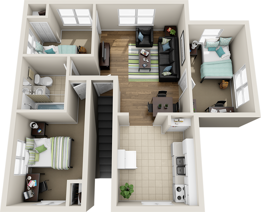 College Park At Midtown Floor Plans Floor Plans Home Design Plans Built In Dresser