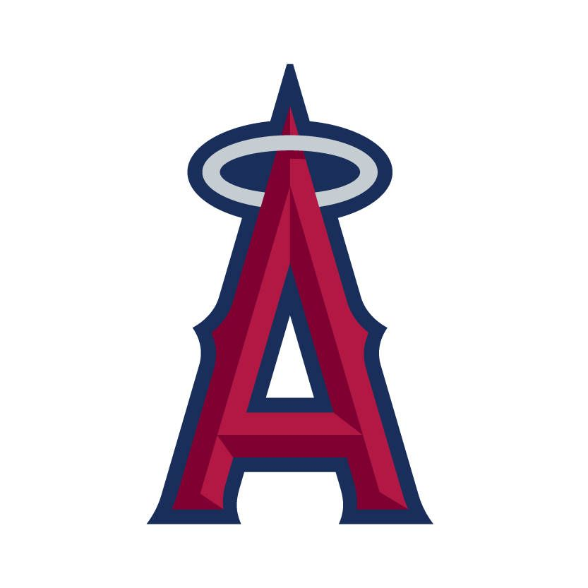 Los Angeles Angels Logo Vinyl Decal Free Shipping Many Sizes Available By Thestarfishhouse On Etsy Anaheim Angels Angels Logo Los Angeles Angels