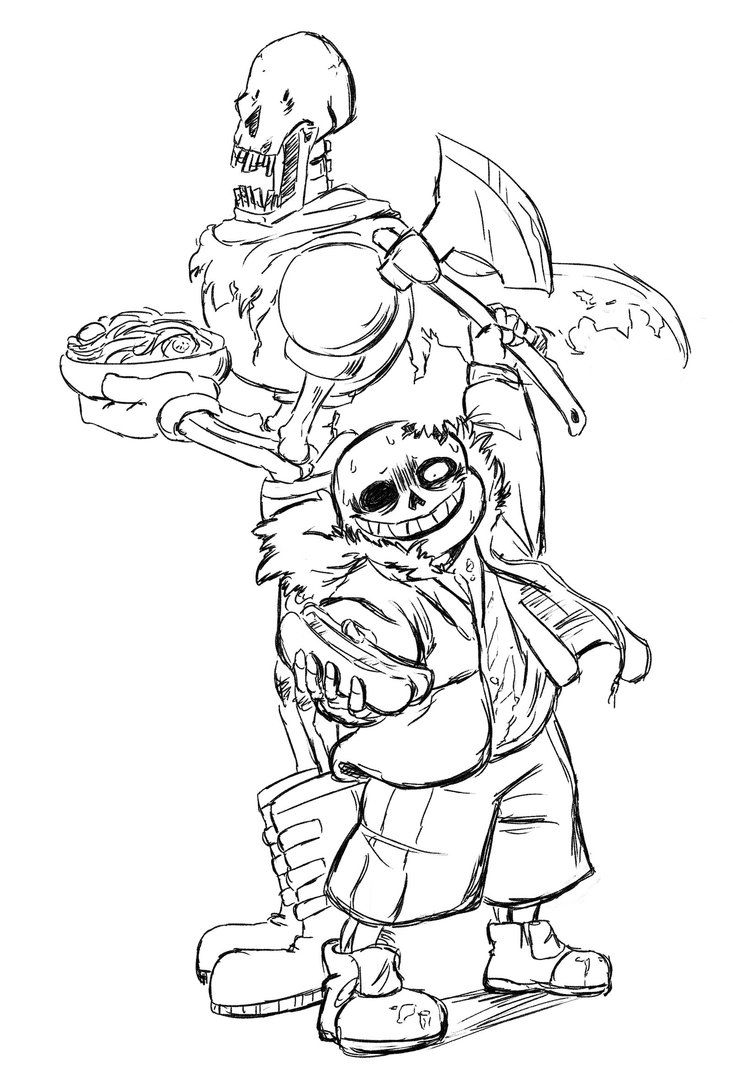 Horrortale Sans And Papyrus I Flucking Love This Au Now Horrortale Undertale Undertale Drawings