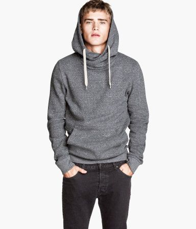 Gray hooded sweatshirt 83feabc0530d