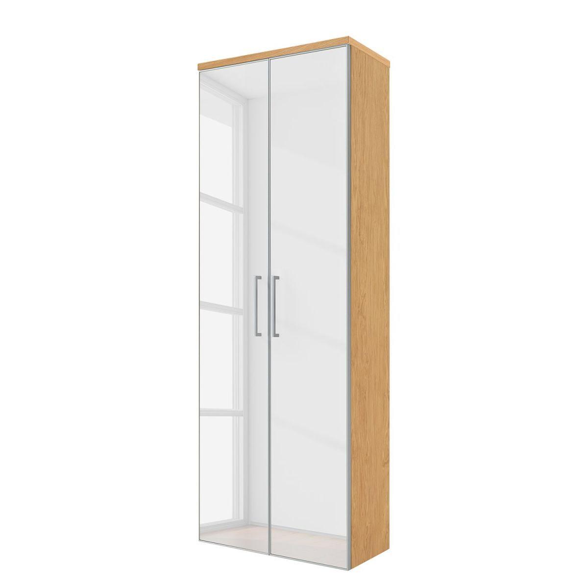 Hangeschrank Alavere Weiss Eiche Bianco Voss Jetzt Bestellen Unter Https Moebel Ladendirekt De Wohnzimme Tall Cabinet Storage Home Decor Storage Cabinet