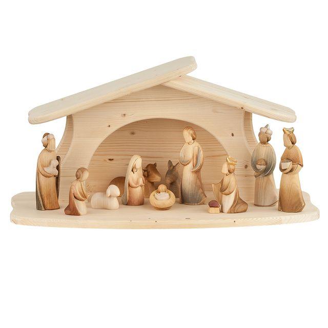Modern Nativity Set Art P41001 Modern Art Complete Nativity 12