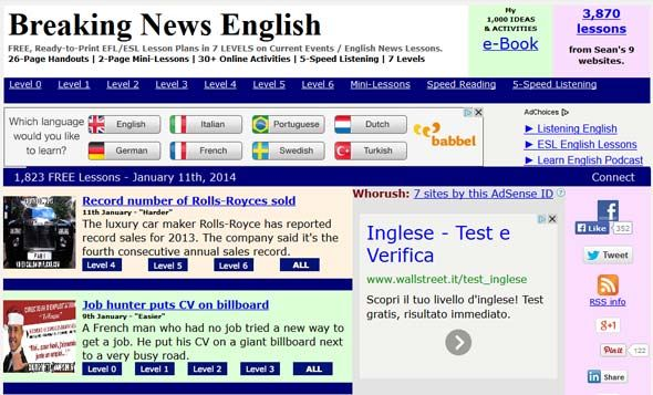 Esl News Articles For Kids And Adults Esl Teaching Resources
