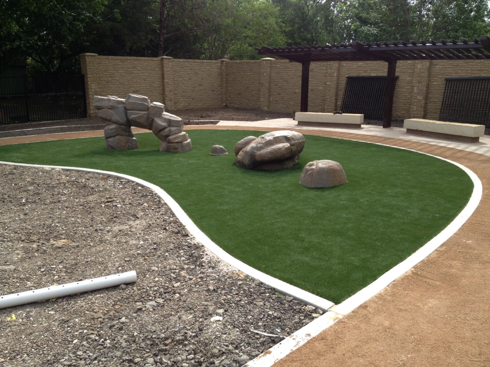 our install of the week comes from turf services in dallas tx we
