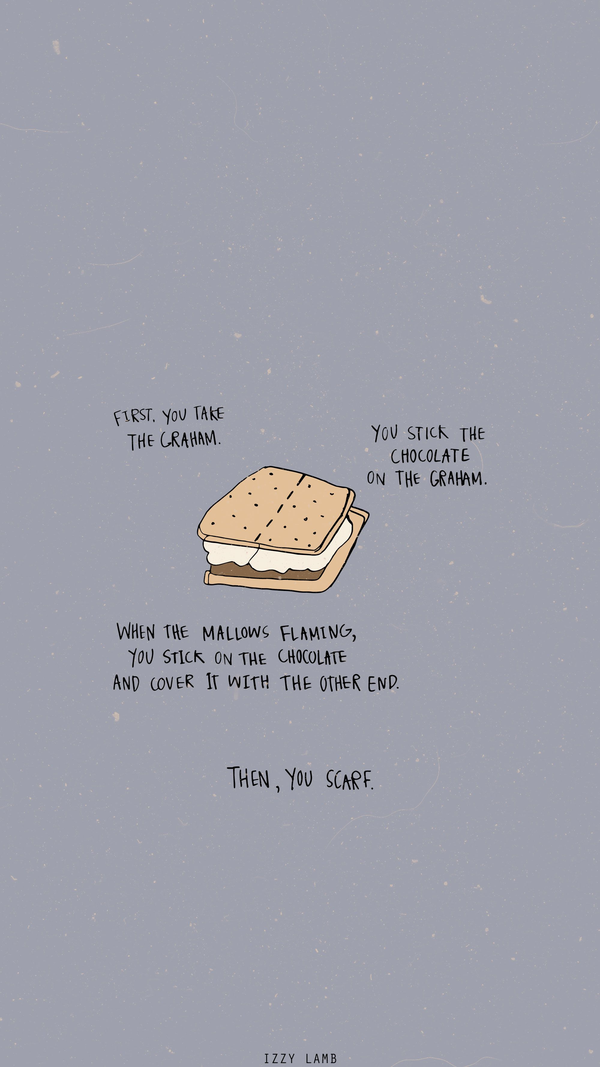 Desktop Wallpaper Minimalist Gilmore Girls Smores Sandlot Wallpaper Wallpaper Iphone