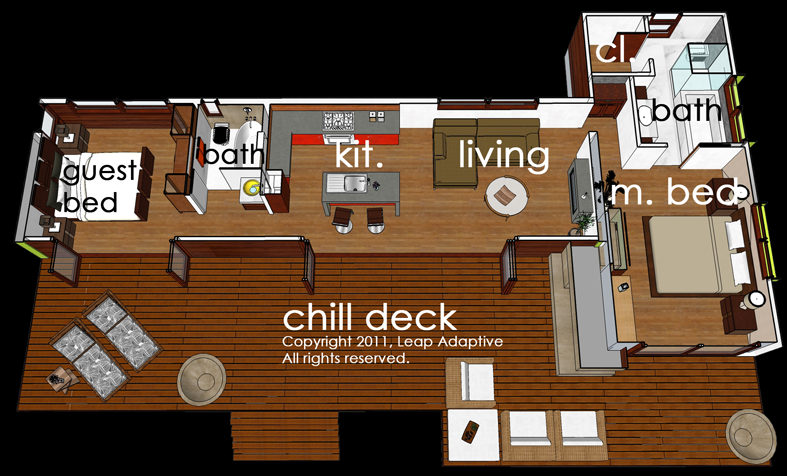 My True Dream House Just Add A Nice Lap Pool By The Deck Modern Style House Plans Modern House Plan House Plans