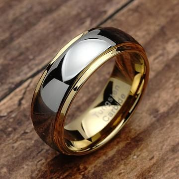 100s Jewelry Tungsten Rings For Men Women Wedding Band Two Tones Gold Silver Engagement Sizes 6 16 Tungsten Mens Rings Rings For Men Womens Wedding Bands