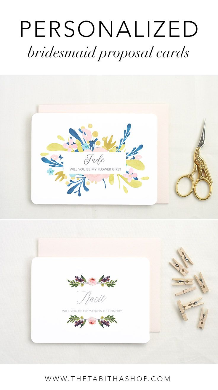 Personalized Stationery Set Bridesmaid Proposal Wedding Stationery Will you be my Bridesmaid Pop the Question Asking Bridesmaid
