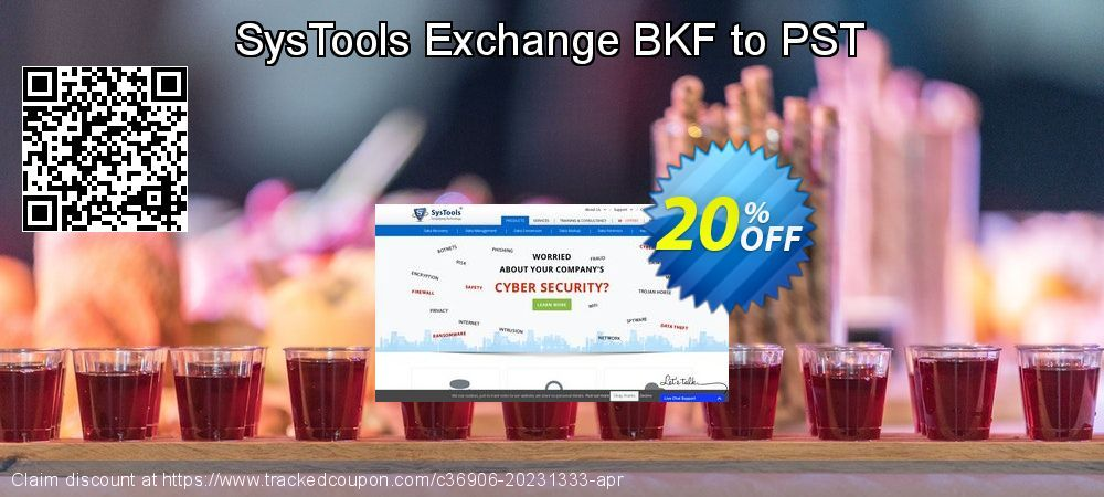 20 Off Systools Exchange Bkf To Pst Promo Coupon Code On