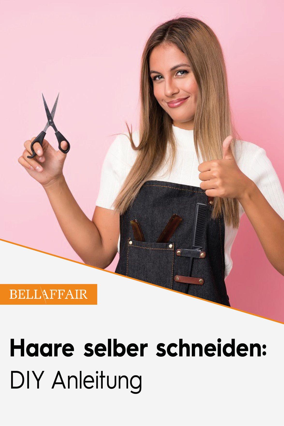 Haare selber schneiden: DIY Anleitung | Haare selber