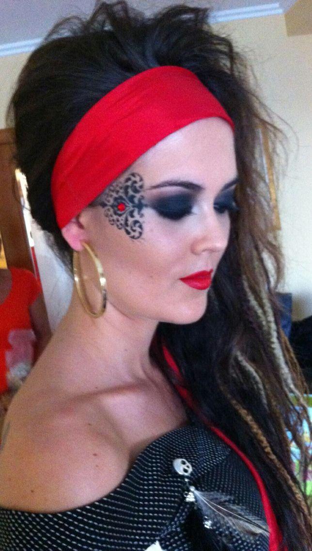 Maquillaje Pirata Halloween En 2018 Pinterest Pirate Makeup - Maquillaje-de-pirata-para-mujer