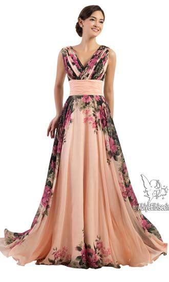 Uzun Abiye Elbise Askili Cicek Desenli Sifon Abiye Elbise Abiye Elbise Kisa Abiyeler Uzun Abiye Online Abiye Ucuz Elbise Modelleri Elbise Resmi Elbiseler