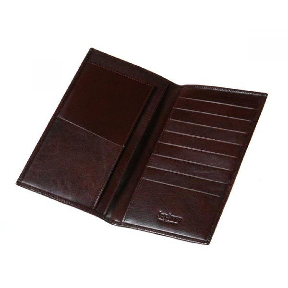 SAGEBROWN Slim Top Pocket Wallet