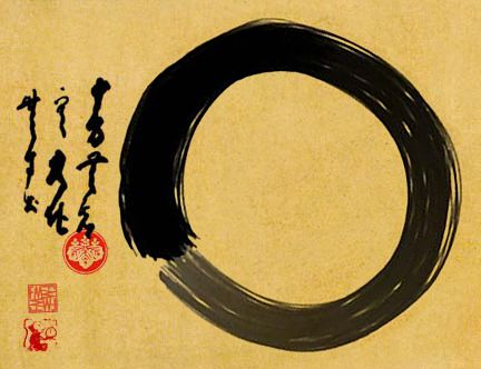 """Wuji Symbol Of Emptiness"""" symbolizes a moment when the mind is free to simply let the body/spirit create"""
