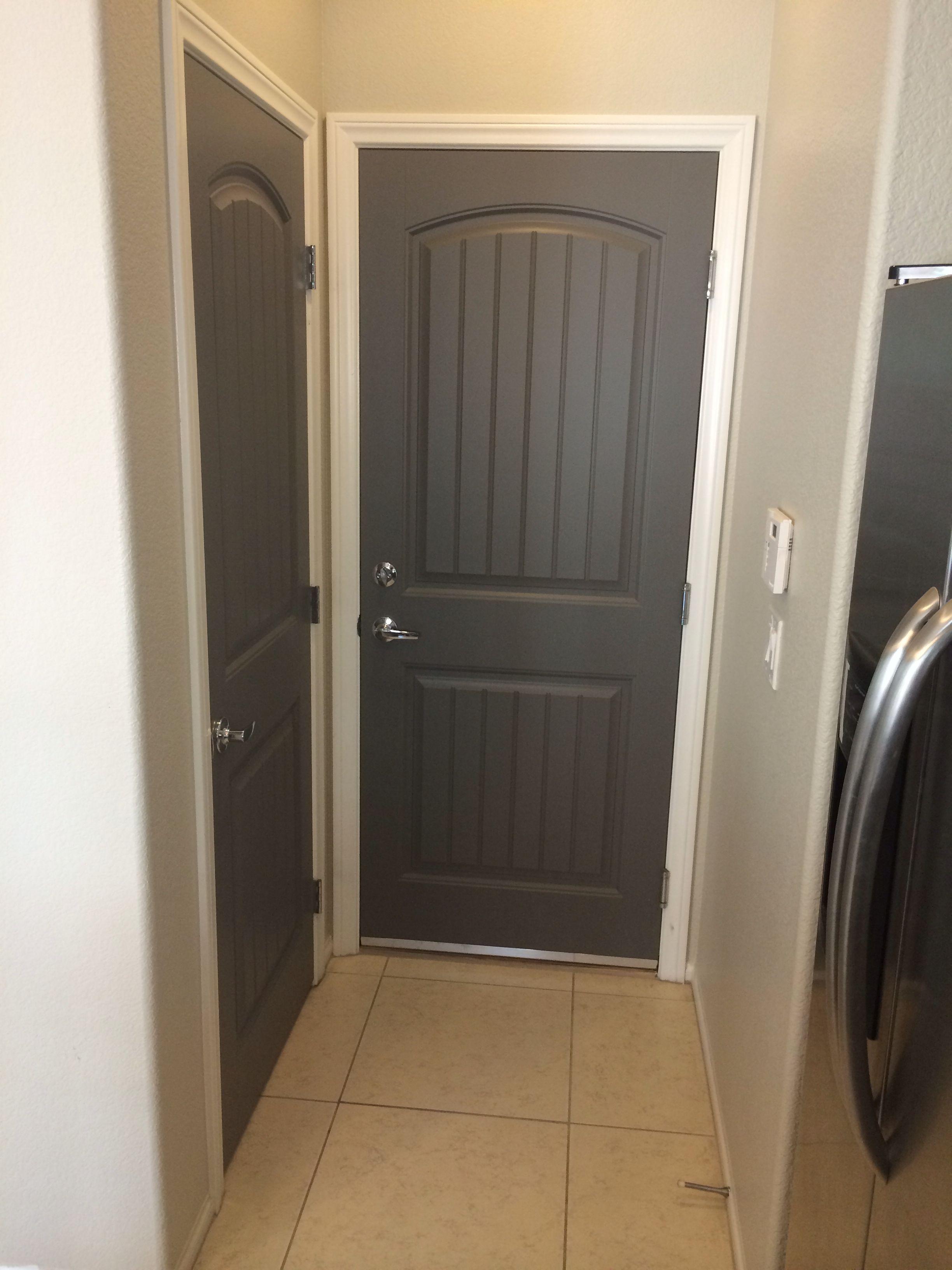 Gauntlet Gray Doors Repose Gray Walls Interior Door Colors Grey Interior Doors Doors Interior