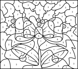 Christmas Coloring Pages Christmas Color By Number Christmas Coloring Books Christmas Colors