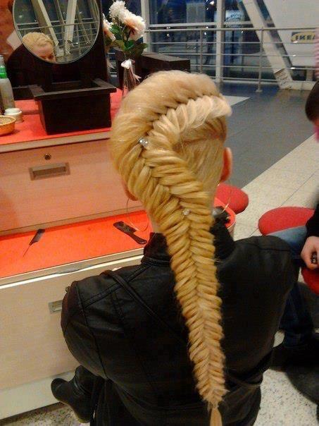 pony tail braid