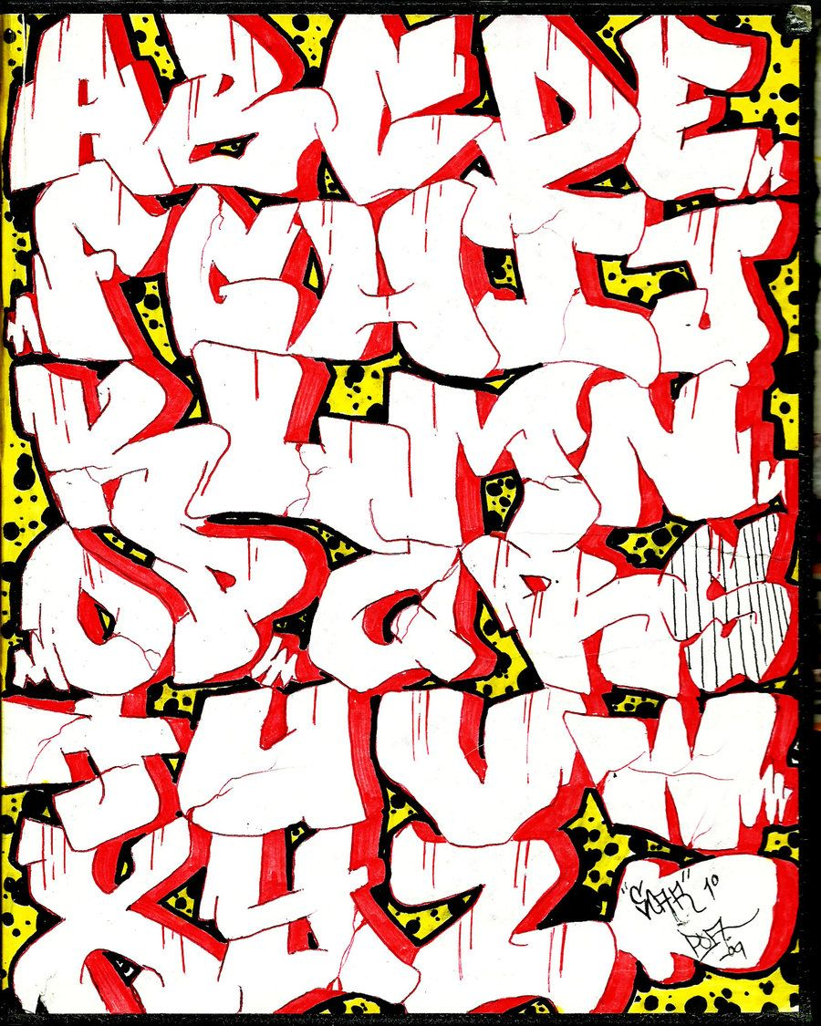 street graffiti letters - Google Search | graffitti in ...