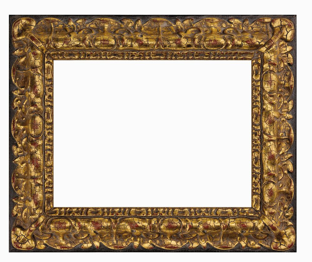 Tv Frame M8001 Spanish Representative Of 17th Century Design This Reverse Profile