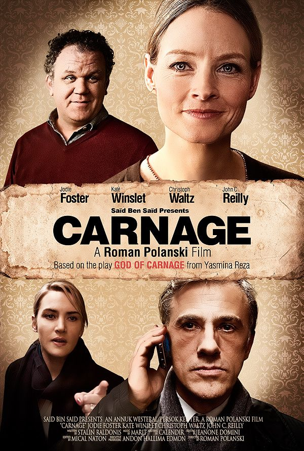 Carnage Kate Winslet Movie Posters In 2019 Pinterest Movies