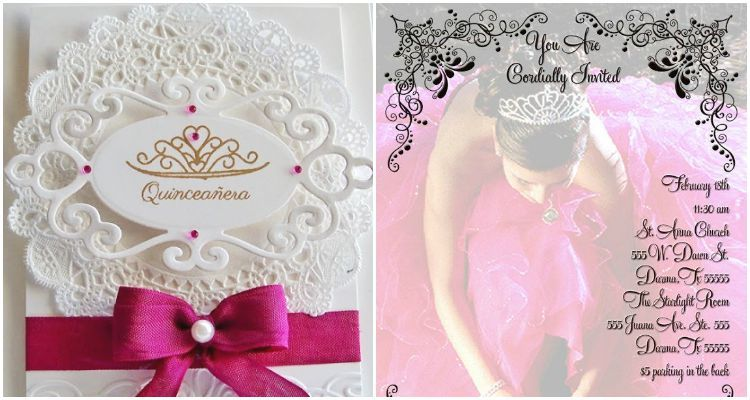 A cheat sheet for your quinceanera invitation wording quinceanera in case you havent found your inspiration for your quinceanera invitation wording you stopboris Choice Image