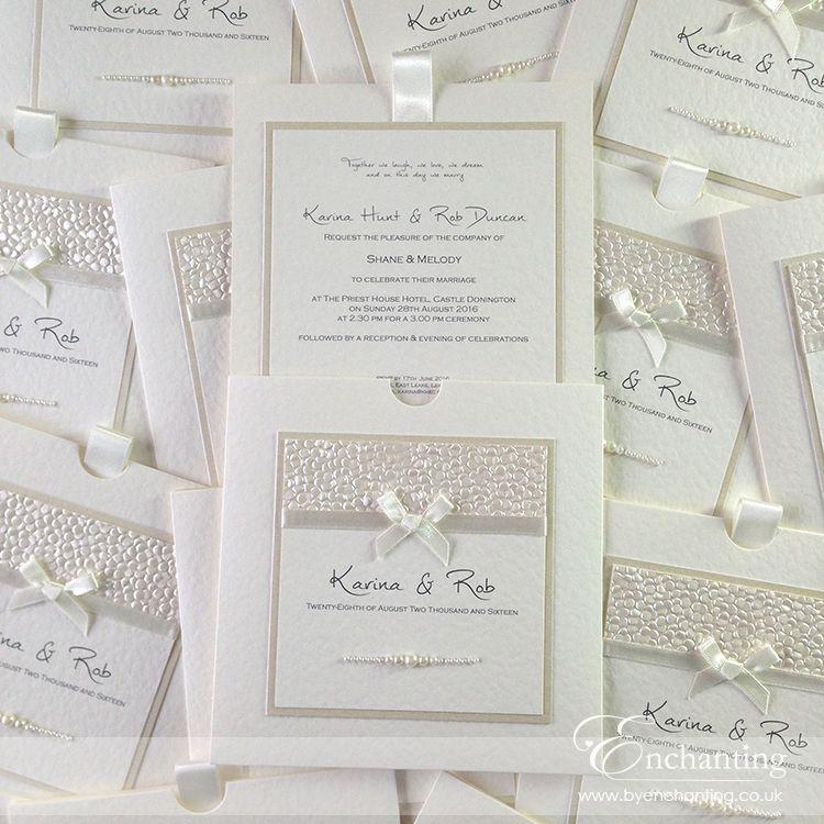 A Wallet Invitation using a bespoke design | wedding invitations ...