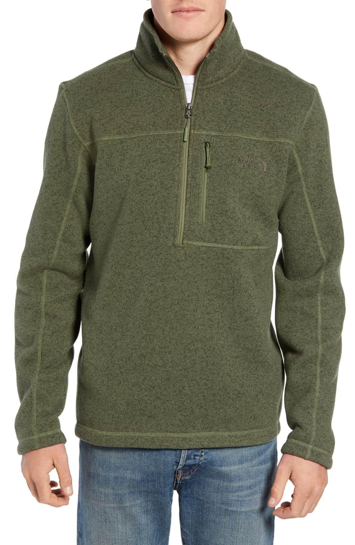 e0fd85bd4 Gordon Lyons Quarter-Zip Fleece Jacket, Main, color, FOUR LEAF ...