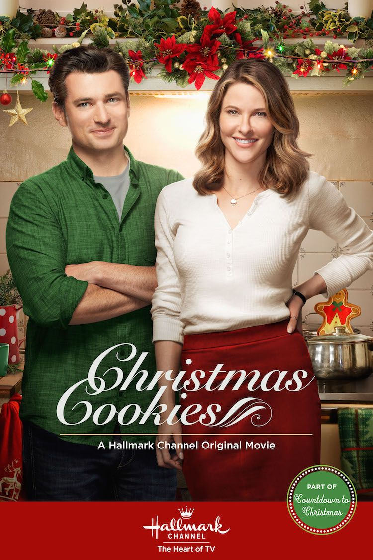 Christmas Cookies Starring Jill Wagner And Wes Brown Is Delicious Anytime Of Year Christmas Movies Hallmark Channel Christmas Movies Hallmark Christmas Movies