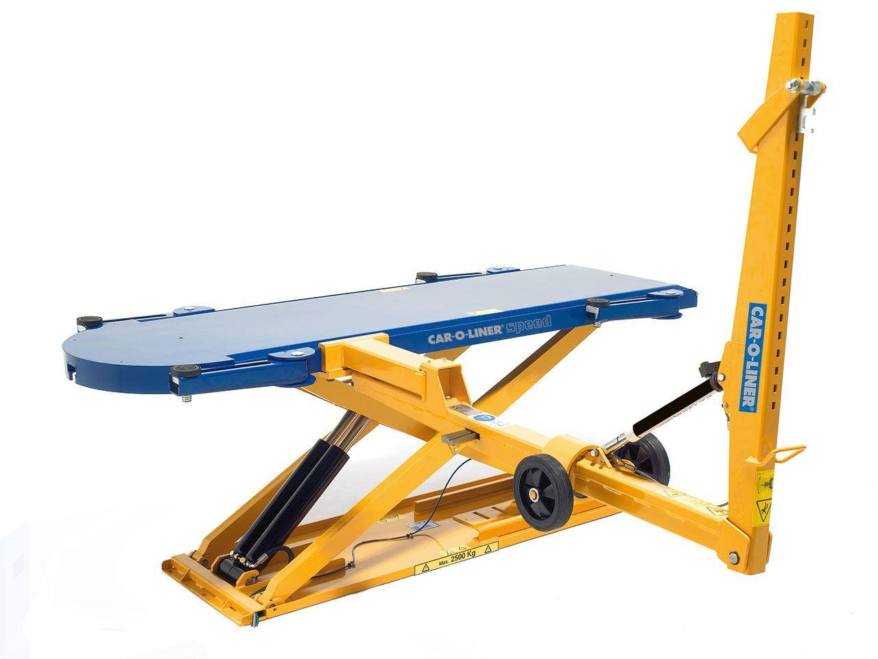 collision repair bench designs