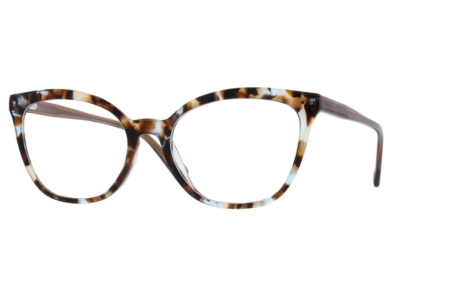 492dec2e3c3 Zenni Womens Cat-Eye Prescription Eyeglasses Tortoiseshell Plastic ...