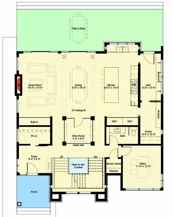 Pin By Celene Dolly On Casa Modern House Plans House Plans Open House Plans