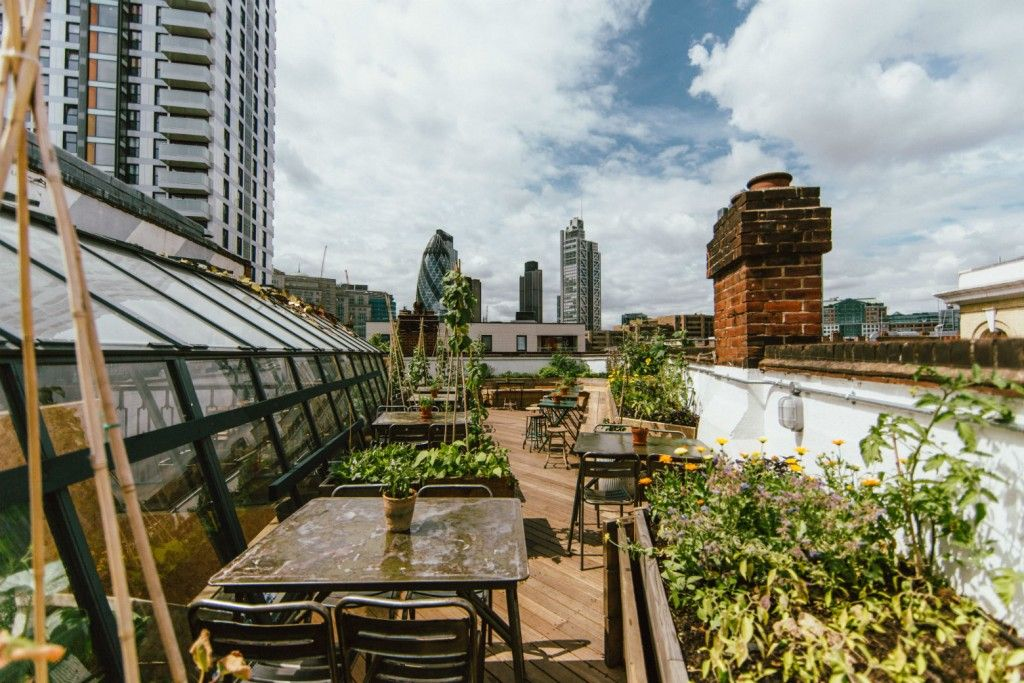 The Best Rooftop Bars In East London With Images Best Rooftop