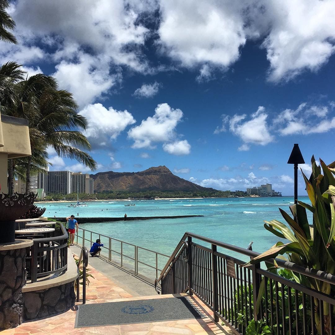 One Of The Best Views Waikiki Beach In Honolulu Hawaii At Sheraton Hotel