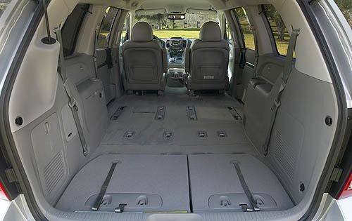 2008 Hyundai Entourage Minivan Camping Futuristic Cars Vehicle Vehicles