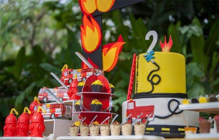 Feuerwehr Geburtstag feiern - Ideen für Deko, Spiele und Co.