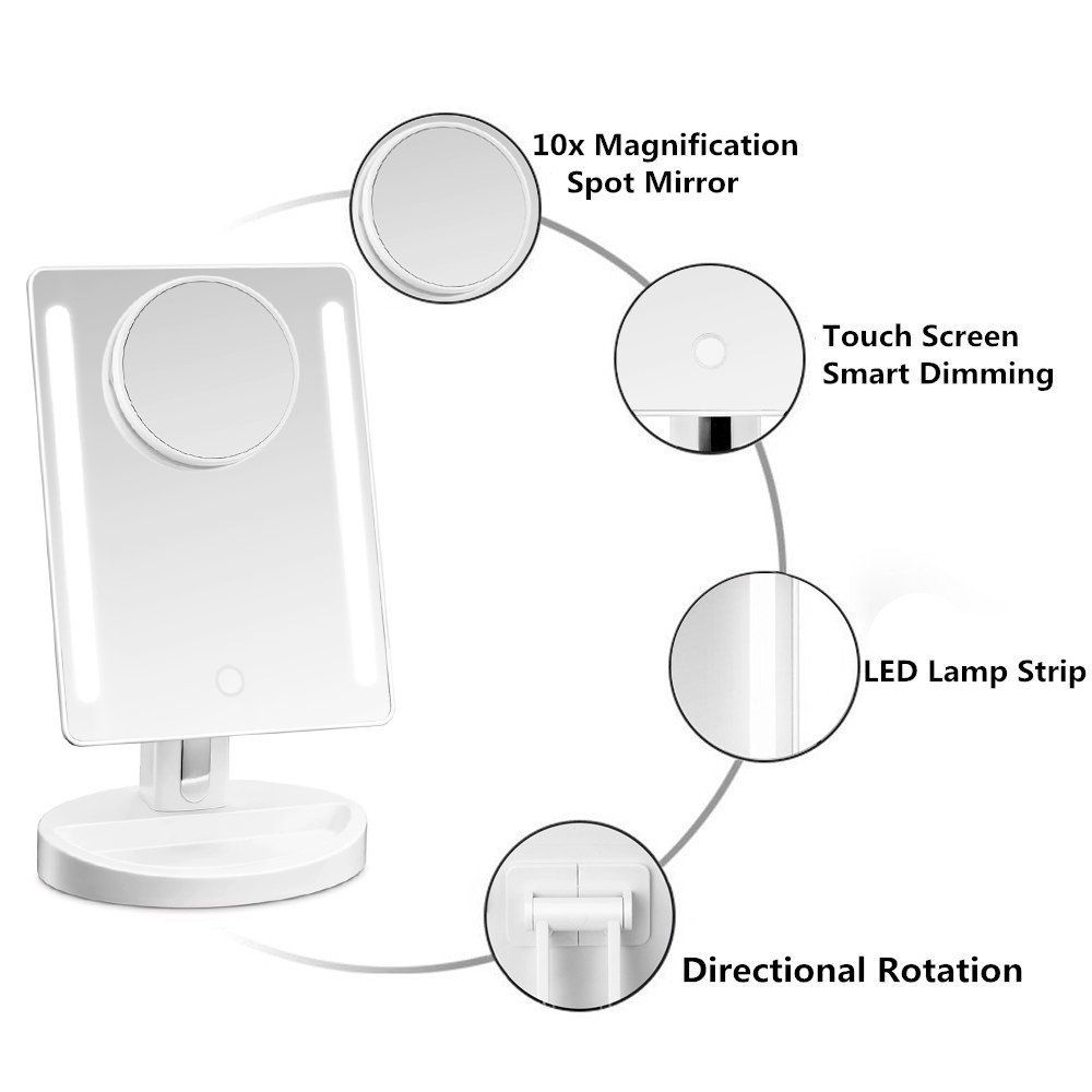 Top 10 Best Makeup Mirrors In 2020 Reviews Amp Buyer S Guide