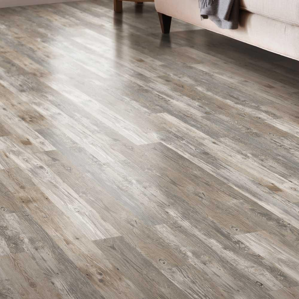 Lifeproof Henlopen Grey Oak 7 5 In X 48 In Luxury Rigid Vinyl Plank Flooring 17 55 Sq Ft Per Car Plank Flooring Vinyl Plank Flooring Wood Floors Wide Plank