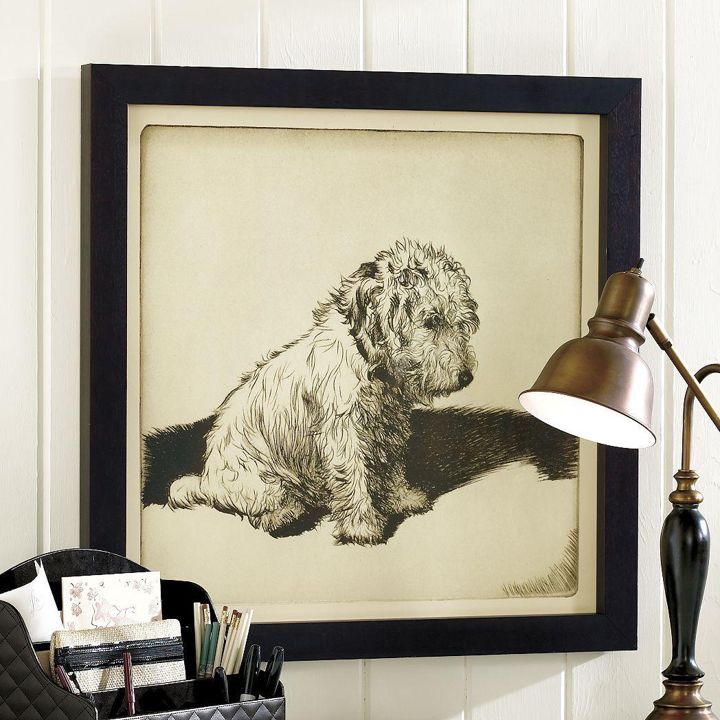 the inconsolable print   dogs   pinterest   prints, ballard designs