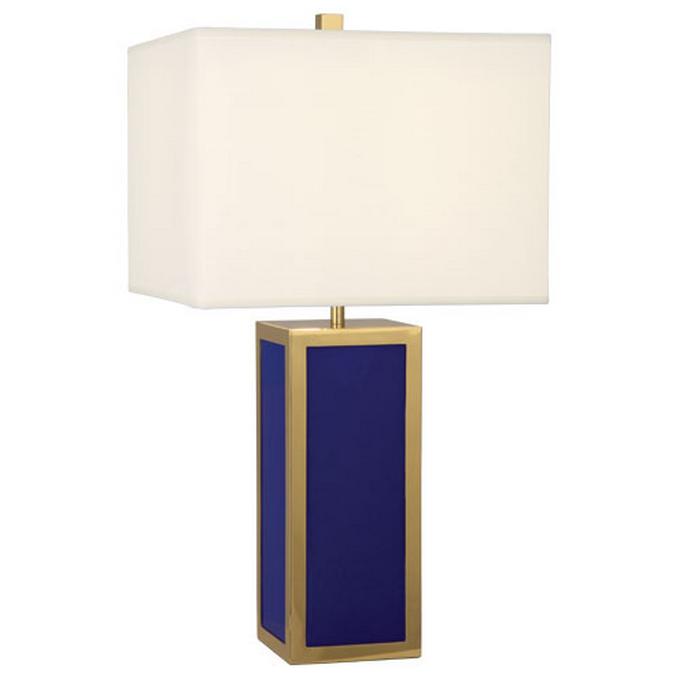 Jonathan Adler Barcelona Royal Blue Tall Table Lamp