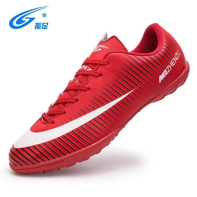 f295b11cd3 ZHENZU Soccer Shoes Indoor Superfly Breathable Chuteira Futebol Cheap Men  Soccer Shoes Superfly Original TF Kids